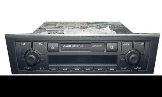 audi chorus tape radio