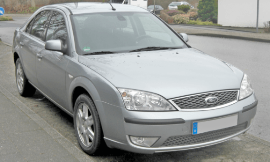 ford mondeo car from 2007