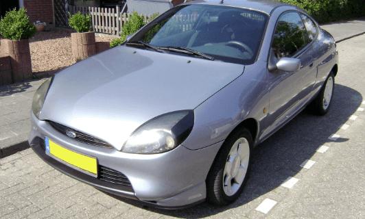 ford puma car from 2005