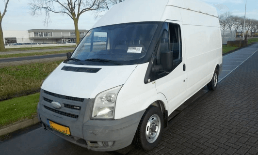 ford transit car from 2008