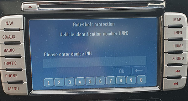ford travelpilot nx 2008 2014 radio navigation