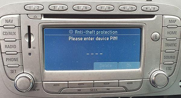 ford travelpilot fx radio navigation