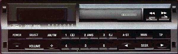 ford 2007 rds radio