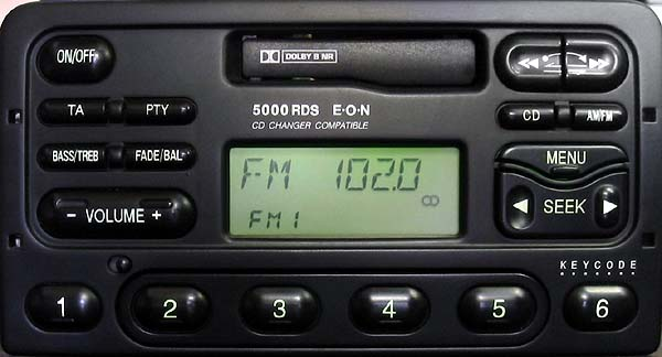 ford 5000 rds radio
