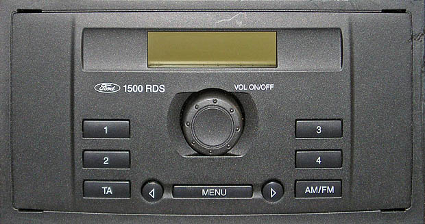 ford transit 1500 rds medialess radio