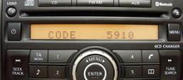 nissan clarion radio code