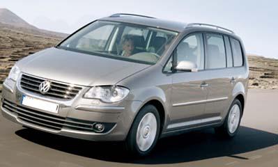 vw touran 2006 car
